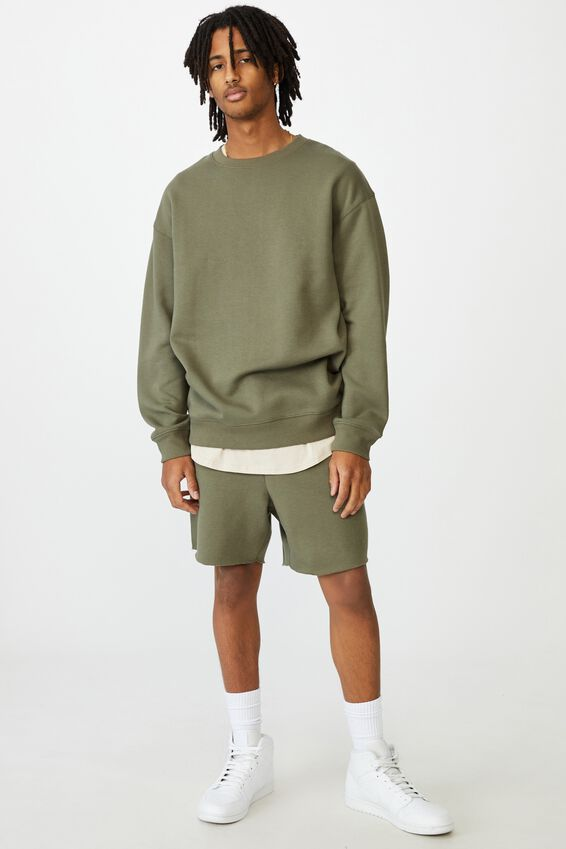 Oversized Crew, ARMY GREEN