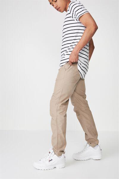 Slim Leg Pants, STONED