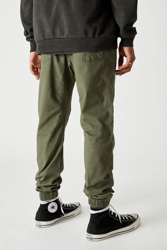 Cuffed Pant, GREENBAY