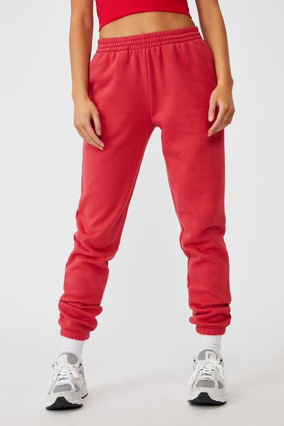 Classic Trackpant, RED APPLE