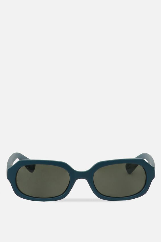 Square Supreme Sunglasses, M BLUE SAPH_GRN