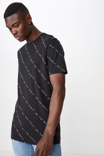 Slim Graphic T Shirt, BLACK/NOT FOR RESALE