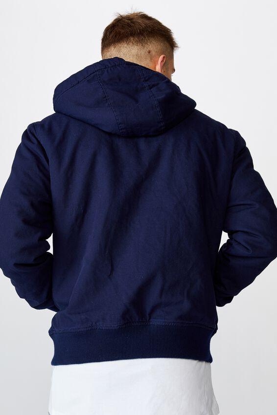 Sherpa Hooded Bomber, NAVY