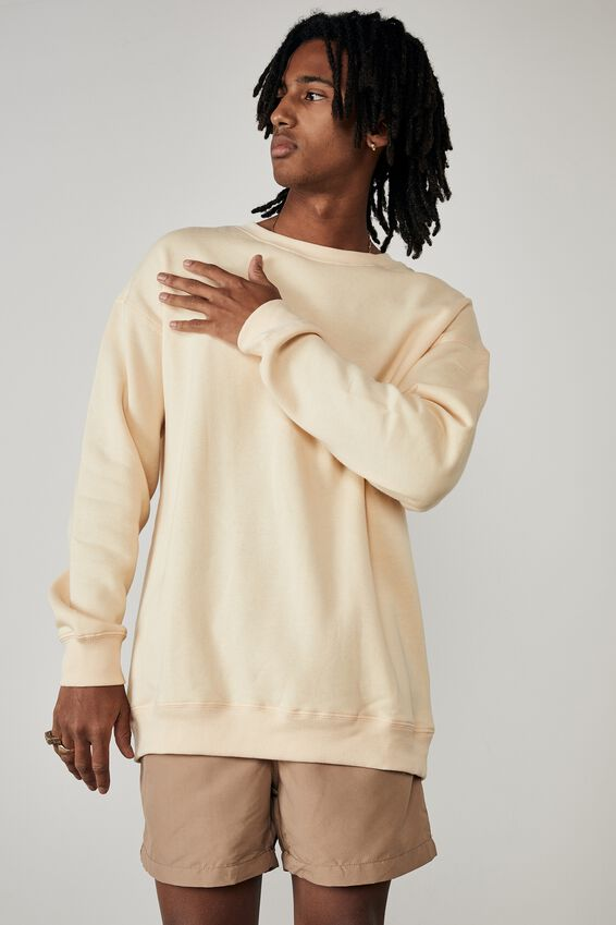 Oversized Crew, LEMON SORBET