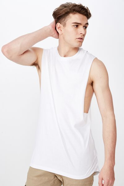 True Muscle Tank, WHITE