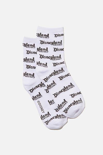 License Original Socks, LCN DIS WHITE/DISNEYLAND
