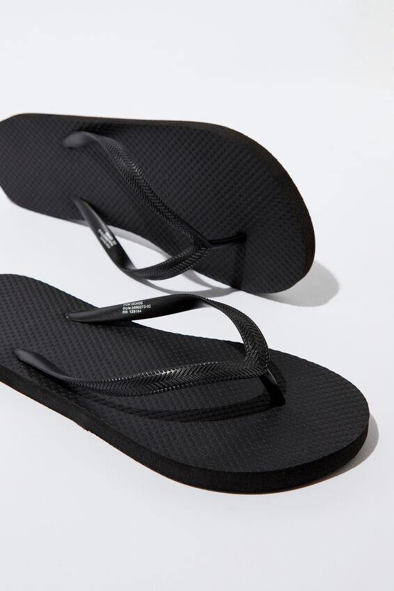Flip Flop, BLACK