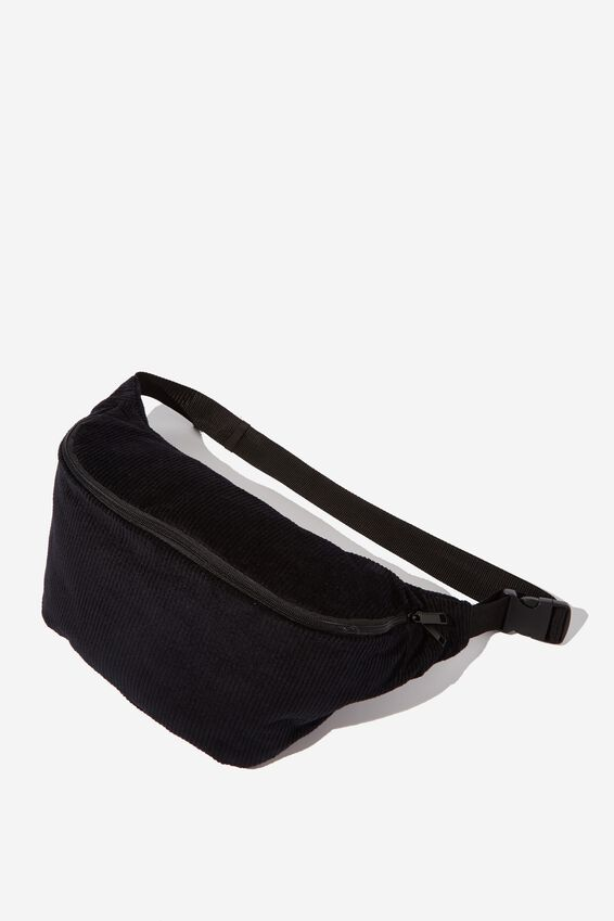 Oversized Bumbag, BLACK