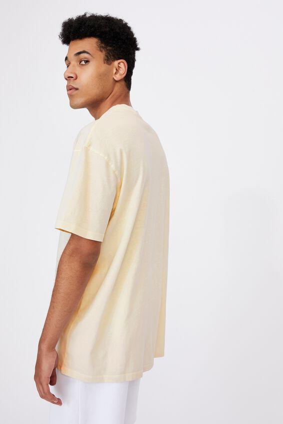 Relaxed Washed T Shirt, WASHED IVORY/MISSOURI