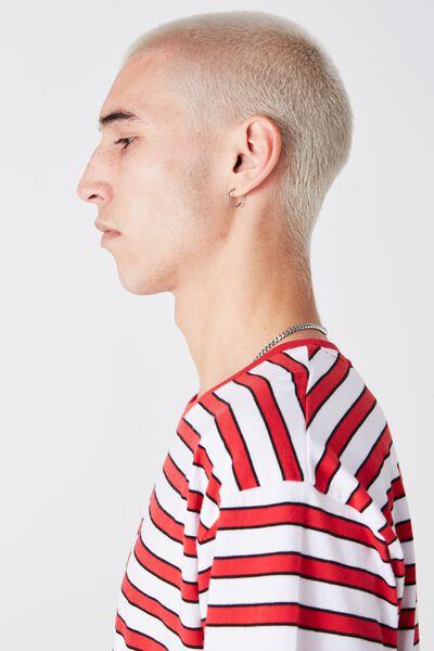 Og Stripe Tee, RED/WHITE