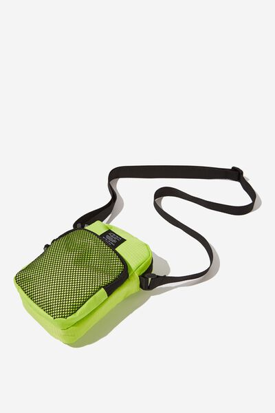 Crossbody Pouch, NEON LIME