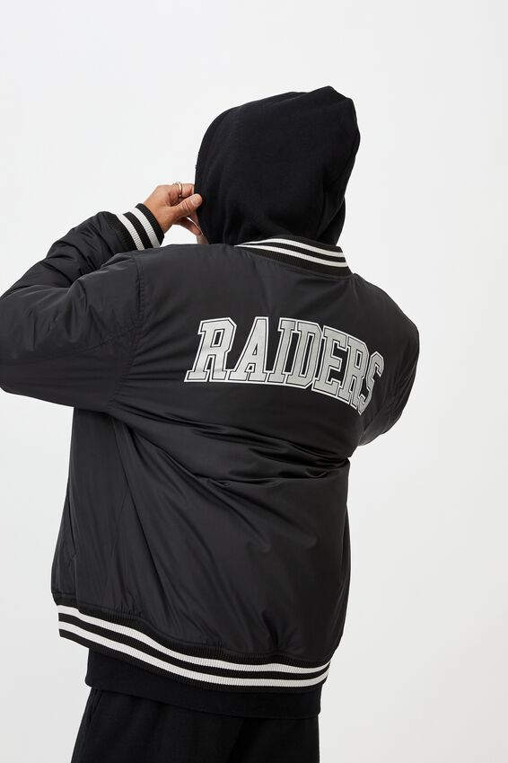 License Bomber Jacket, BLACK RAIDERS