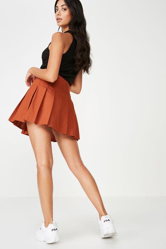 Pleated Skirt, GINGER