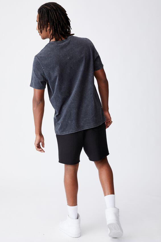 Regular Music Merch T Shirt, LCN WMG WASHED BLACK/GUCCI MANE