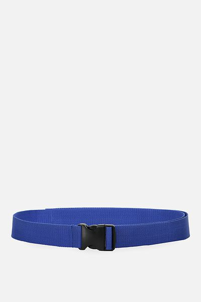 Clasp Belt, COBALT