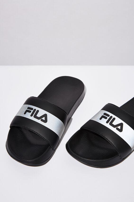 Fila Lcn Ref Slide, BLACK REF