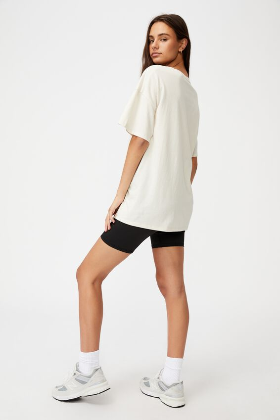 Super Relaxed Graphic Tee, IVORY/CONTROL