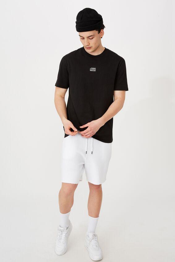 Regular License T Shirt, LCN MT BLACK/COMPACT DISC
