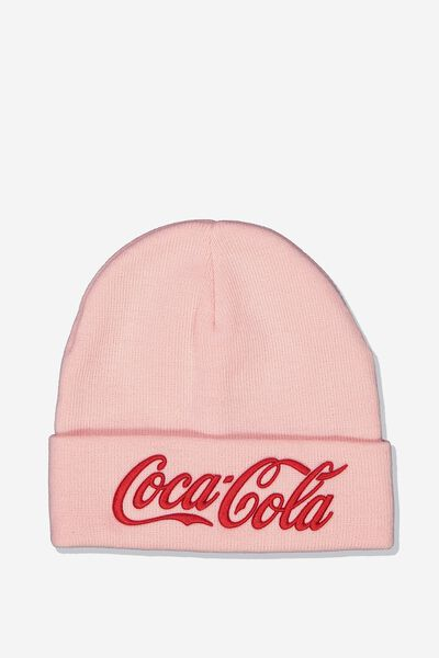 Lcn Coca Cola Beanie, RED_PINK