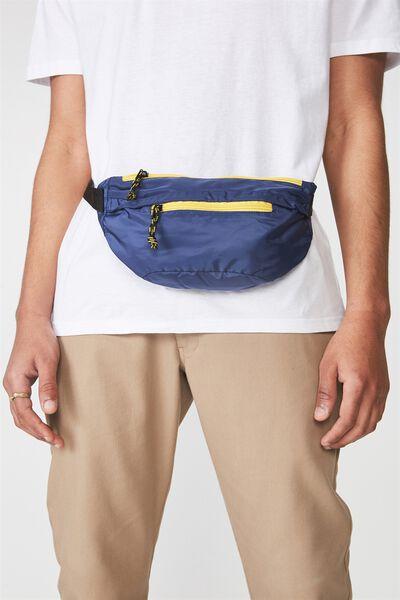 Crossbody Bag, NAVY/YELL