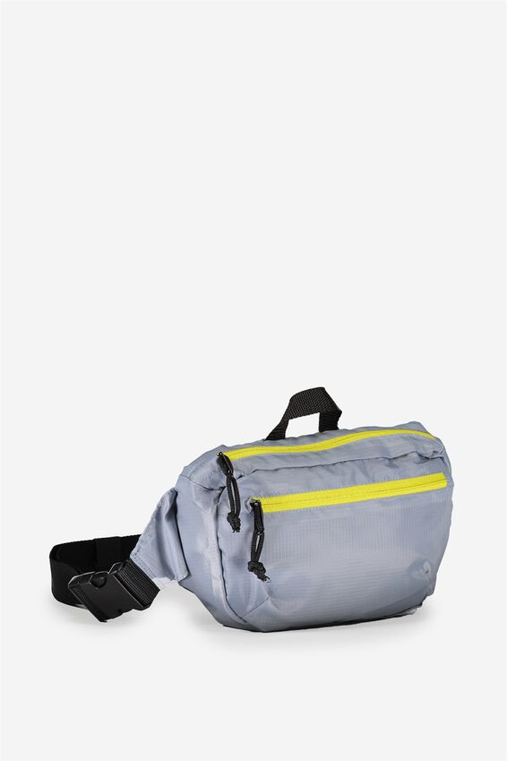 Travel Hip Pack, GREY_LIME