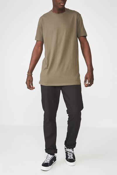 Straight Leg Work Pants, TRUE BLACK