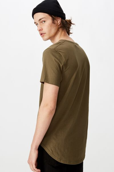 The Curved Tall Tee, CLOVER