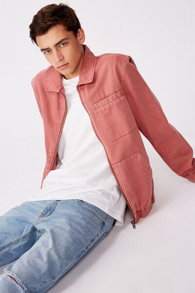 Harrington Jacket, DIRTY MAUVE
