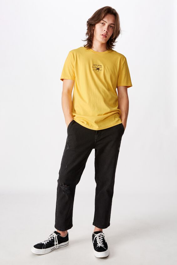 Slim Graphic T Shirt, MIMOSA/LOVE BITES