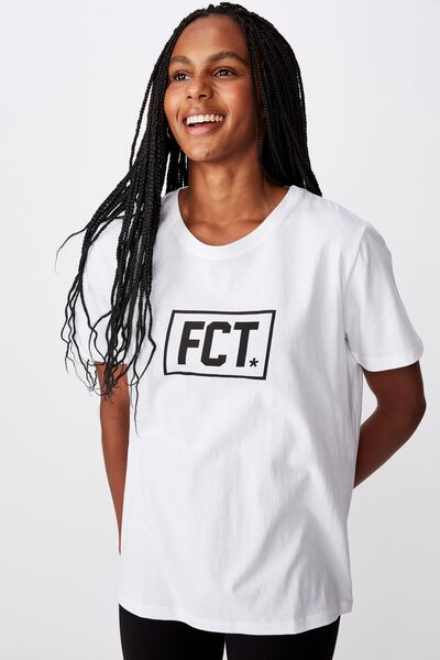 Fct Relaxed Graphic T Shirt, CORE/WHITE