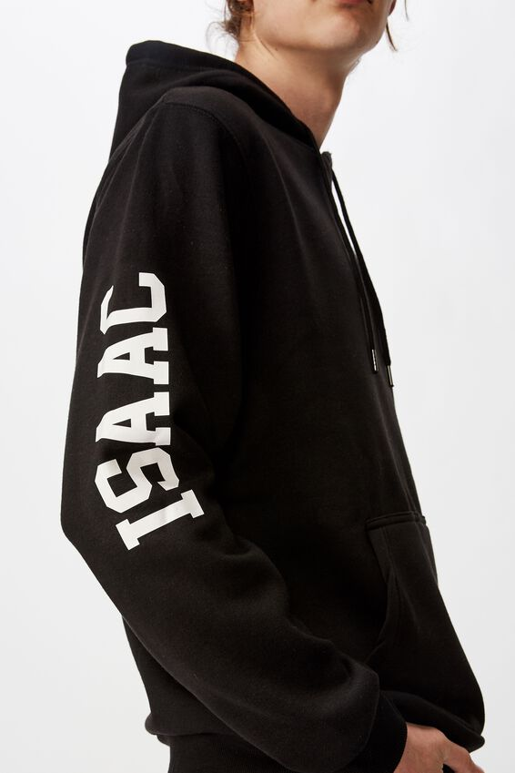 Personalised Basic Hoodie, BLACK