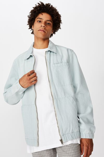 Harrington Jacket, LIGHT BLUE