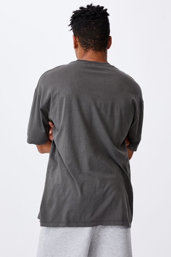 Relaxed Washed T Shirt, WASHED STEEL/CHICAGO