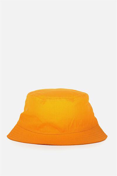 Bucket Hat, WASHED ORANGE