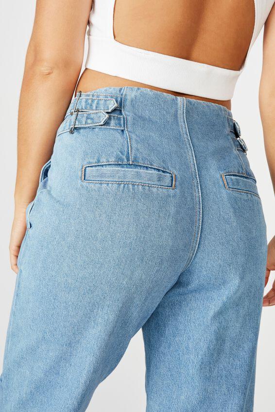 Buckle Slim  Slouch Jean, 90'S BLUE