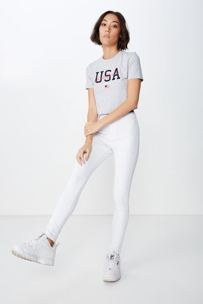 The Jegging 2, WHITE