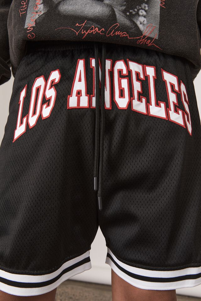 Basketball Short, BLACK/LOS ANGELES
