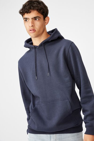 Basic Hoodie, FRENCH NAVY