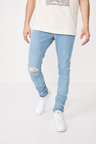 Skinny Leg Denim Jean, CALI BLUE