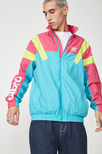 Umbro Lcn Spliced Windbreaker, PEACOCK SPLICE