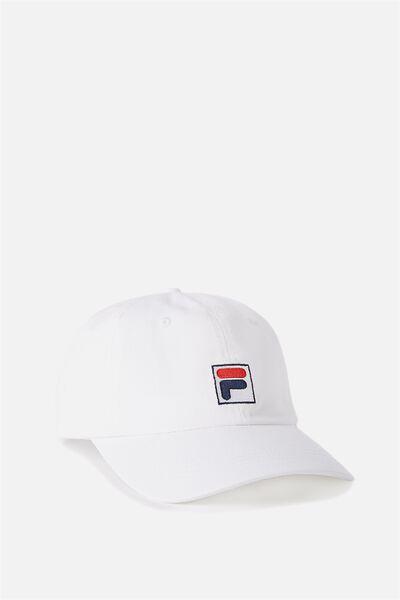 Fila Lcn Cap, WHITE
