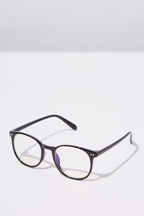 Blue Light Reader Glasses, S.BLK_B-LIGHT