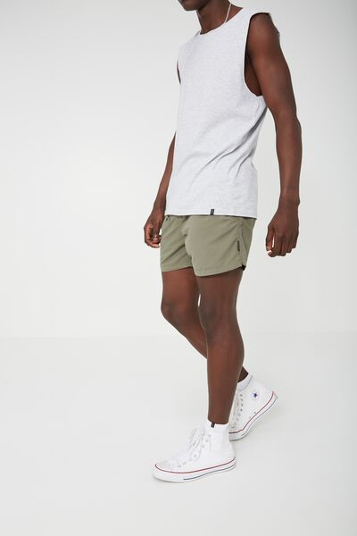 Jose Poolboy Short 2, GREENBAY/BLACK