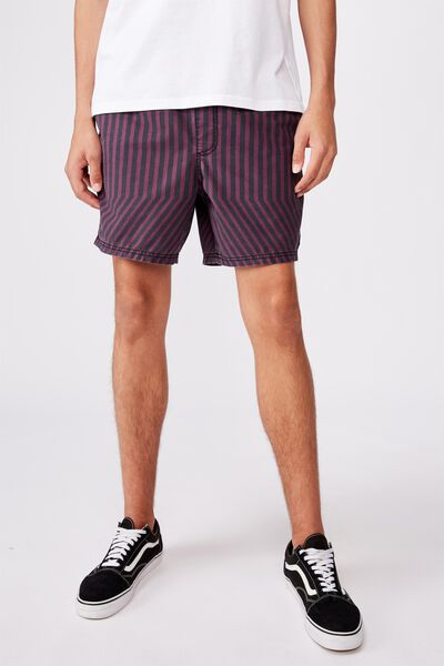 Boulevard Short, UMPIRE STRIPE