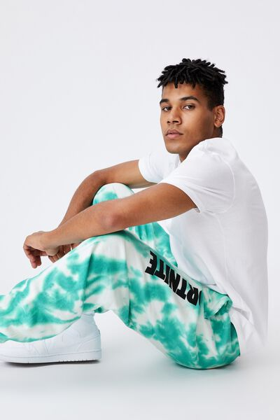Oversized Gaming Trackpant, LCN FOR TIE DYE/FORTNITE