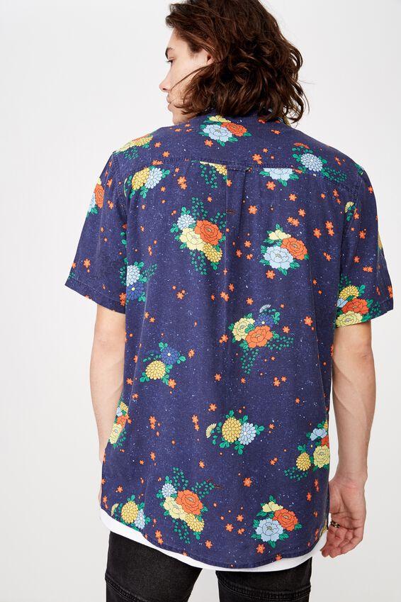 Resort Shirt, MARLIN FLORAL
