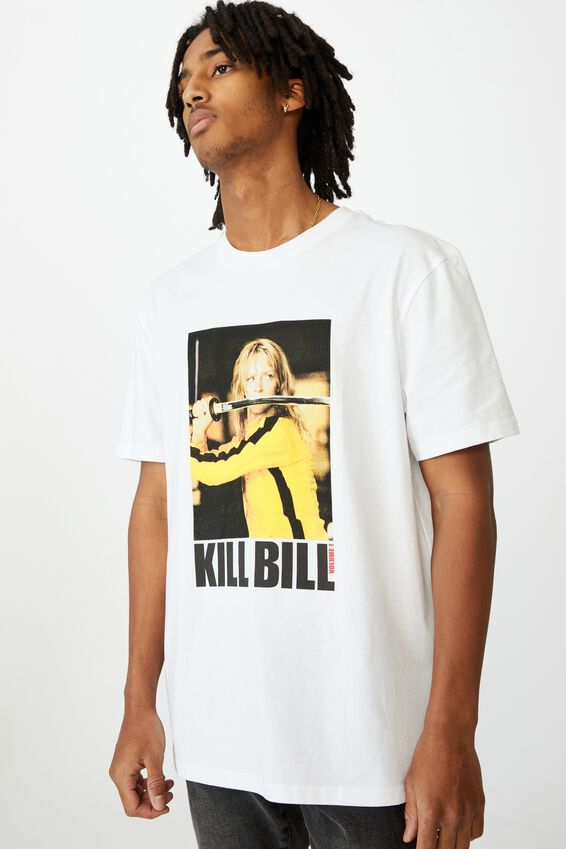 Regular License T Shirt, LCN MIR WHITE/KILL BILL