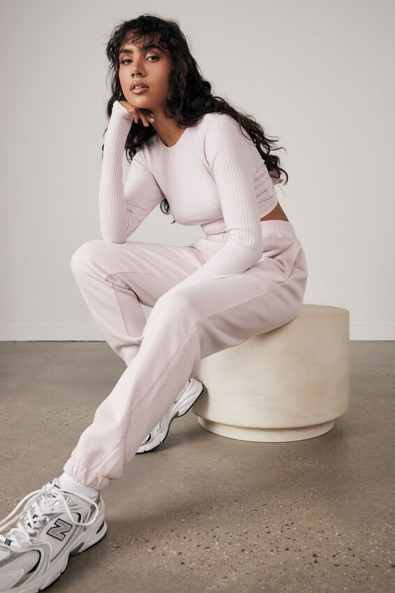 Classic Trackpant, LILAC SNOW