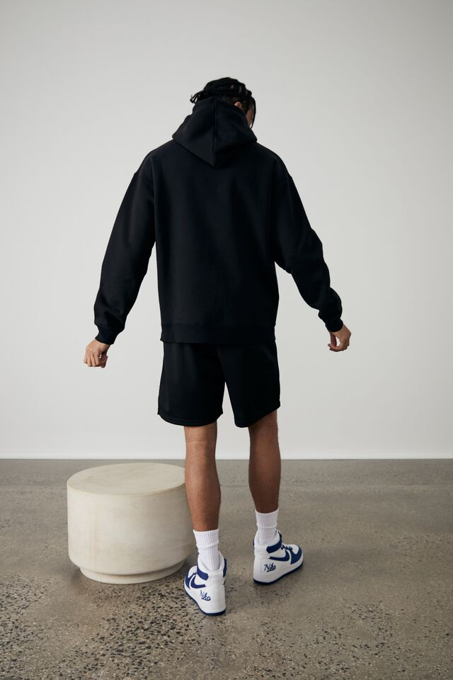 Oversized Music Merch Hoodie, LCN MT BLACK/OUTKAST