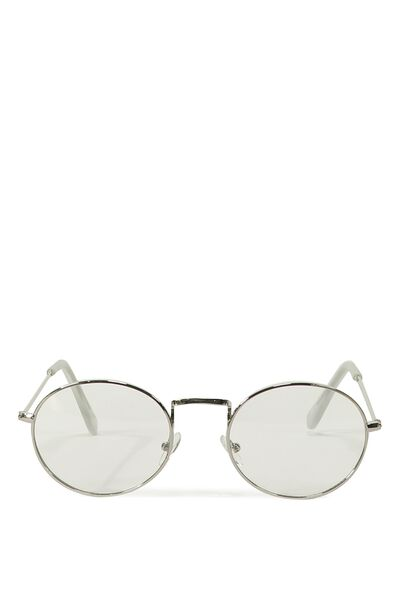 The Ratbag Sunnies, SILVER/CLEAR